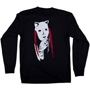 Welcome Audrey Longsleeve T-Shirt - Black