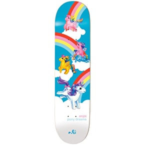 Enjoi Little Pony Dreams R7 Skateboard Deck - Multi 8.125