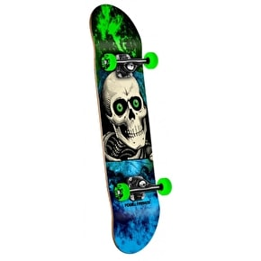 Powell Peralta Mini Skateboard - Storm Ripper Green 7