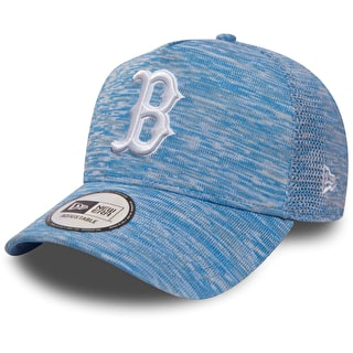 New Era Engineered Fit A Frame - Boston Red Sox Cap - Sky Blue/Optic White