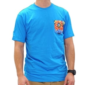 Neff Nifty Premium T-Shirt - Blue/Sunfloral