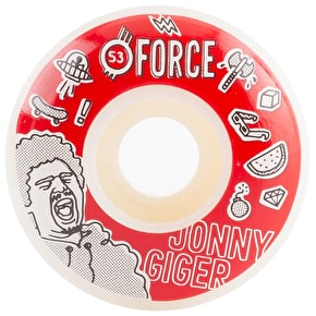 Force Bored Giger Skateboard Wheels - 53mm