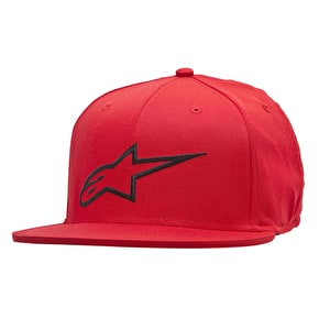 Alpinestars Ageless Flat Flexfit Cap - Red