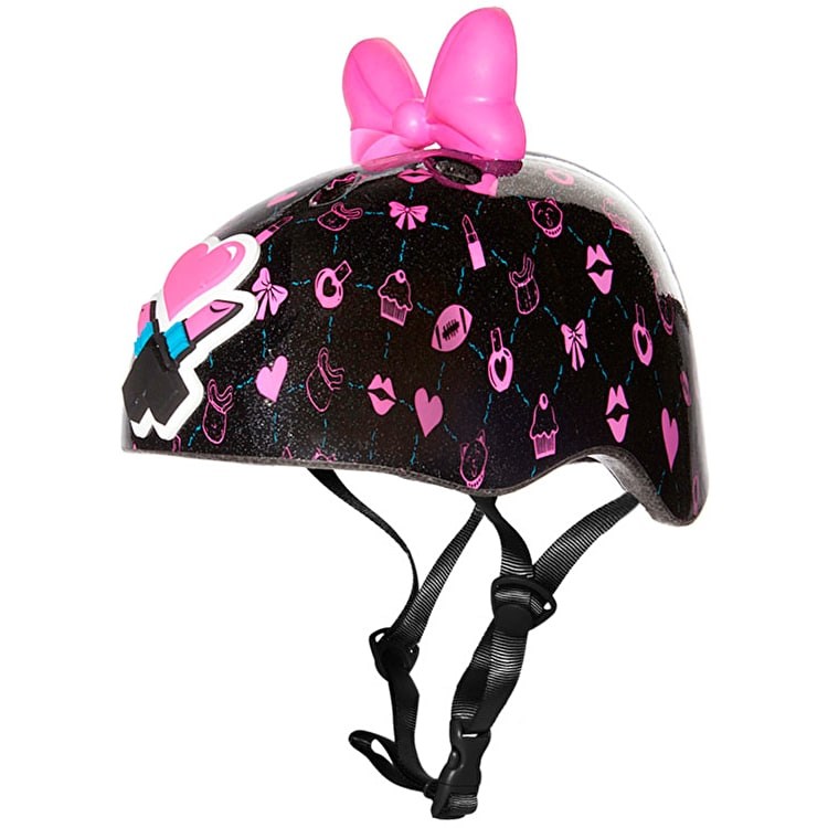 Krash Kid's Glamour Helmet - Black