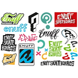 Enuff Skateboards Sticker Sheet