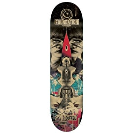 Foundation Nuclear Skateboard Deck - Duffel 8.375