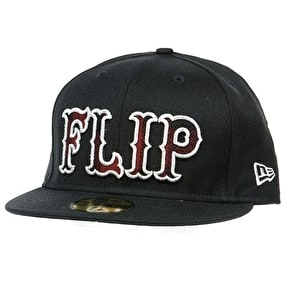 Flip x New Era 59 Fifty Fitted Cap - Black