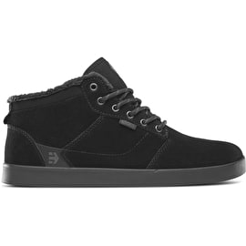 Etnies Jefferson Mid Skate Shoes - Black/Black
