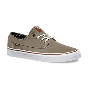 Vans Brigata Shoes - (Suede) Brindle/Plus