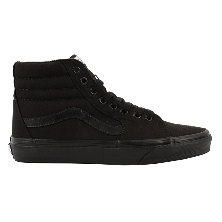 Vans SK8-Hi Skate Shoes - Black/Black