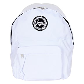 Hype Badge Backpack - White