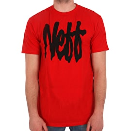 Neff Snake Strife T shirt - Red