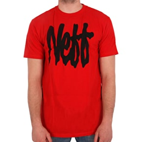 Neff Snake Strife T-Shirt - Red