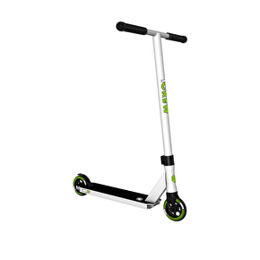 Lucky Crew Pro Stunt Scooter - White
