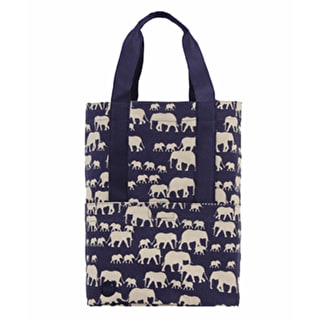 Mi-Pac Tote Bag - Elephants Blue