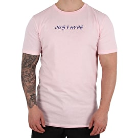 Hype Framed Floral T shirt - Pink/Blue