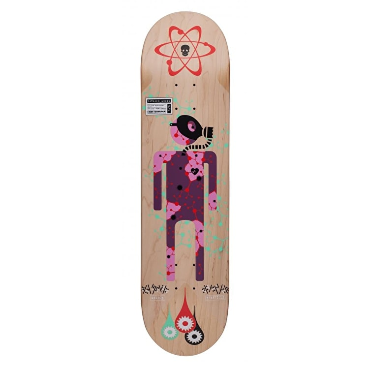 Alien Workshop Series Skateboard Deck - Damaged Goods Radiation 8.0""