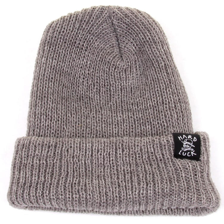 Hard Luck OG Beanie - Heather Grey