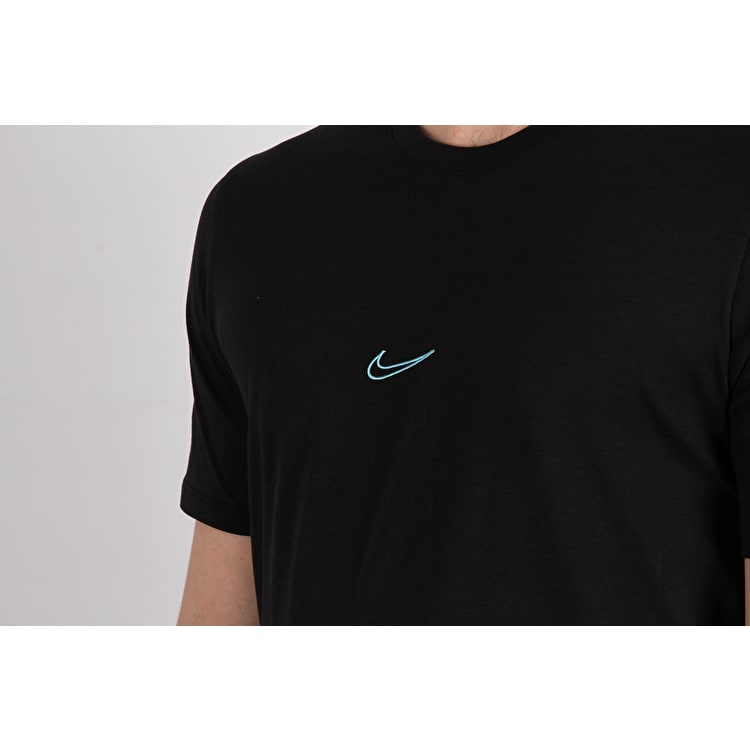 Nike SB Dry T Shirt - Black/Lagoon Pulse