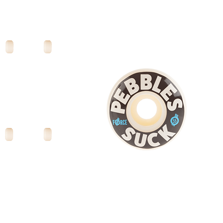 Force Pebbles Suck 18' Skateboard Wheels 55mm