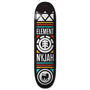 Element Crowned Skateboard Deck - Nyjah 7.75