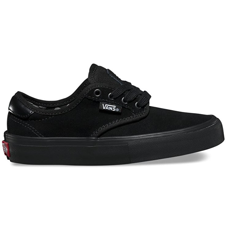 Vans Chima Ferguson Pro Kids Skate Shoes - (Mono) Black