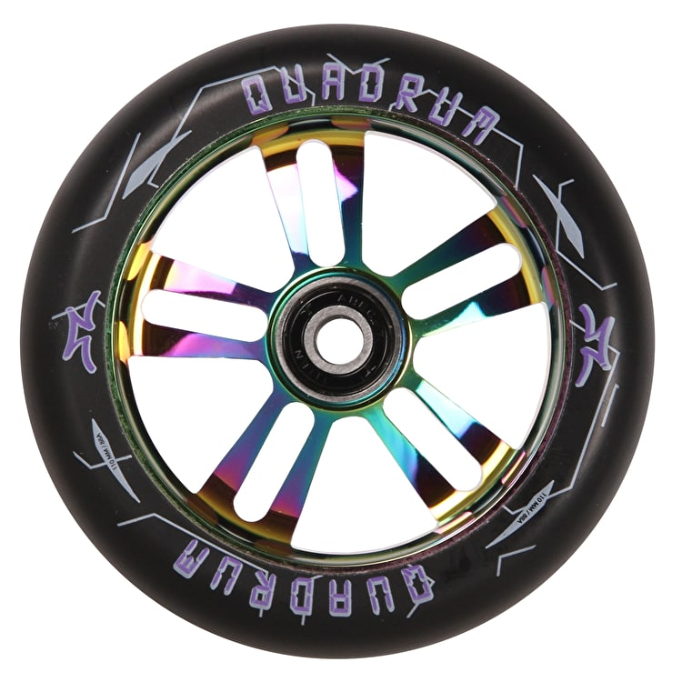 AO Quadrum 10-Star Scooter Wheel 110mm - Oilslick