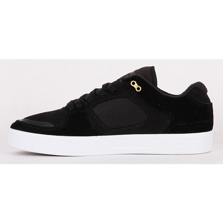 Emerica Reynolds G6 Skate Shoes - Black/White