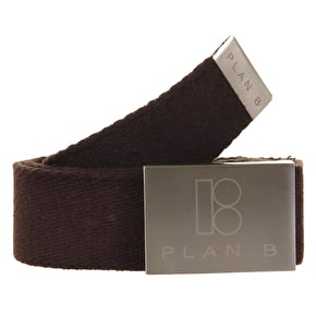 Plan B Hemp Belt - Brown