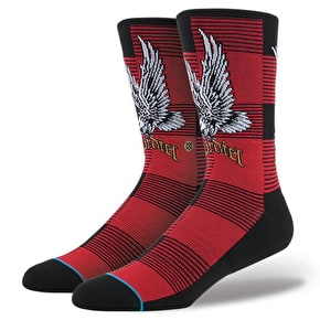 Stance Skate Legends Socks Cardiel2 - Red