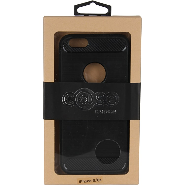 C@se Brushed Carbon iPhone 6 Case - Black