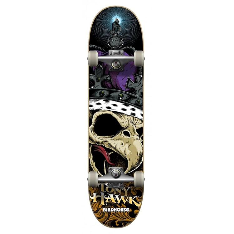 Birdhouse Complete Skateboard - Crown Purple 8.125""
