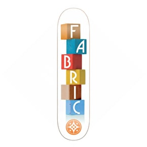 Fabric Building Block Skateboard Deck - 7.9''