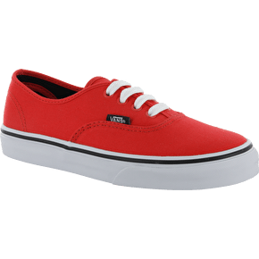 Vans Authentic Kids Shoes - Fiery Red/Black