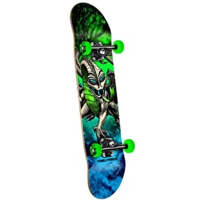 Powell Peralta Mini Skateboard - Storm Cab Dragon Green 7.5