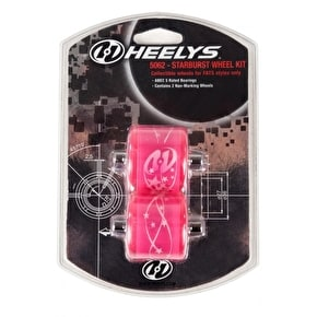 Heelys Fats Wheels - Starburst Pink ABEC 5