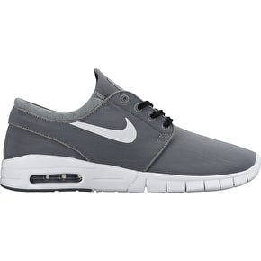 Nike SB Stefan Janoski Max Shoes - Cool Grey/White