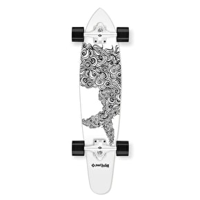 Street Surfing Sealocks Complete Kicktail Longboard - 36