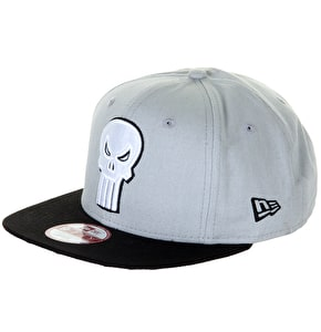 New Era 9Fifty Snapback Cap - Punisher- Canvas Fade