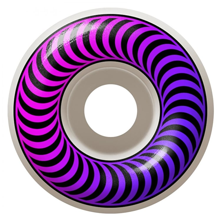 Spitfire Classic Faders 99a Skateboard Wheels - Pink/Purple 54mm (Pack of 4)