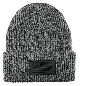 Emerica Made Cuff Beanie- White/Black