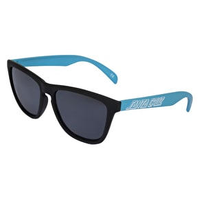 Santa Cruz Volley Sunglasses - Black/Blue