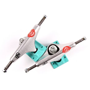 Royal Miami Vice Mini Crown Low Skateboard Trucks - Teal