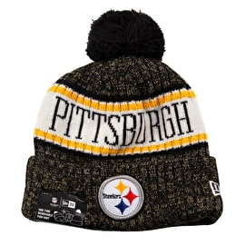 New Era NFL Sideline Beanie 2018 - Pittsburgh Steelers