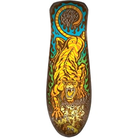 Santa Cruz Salba Tiger Reissue Skateboard Deck - Matte Finish 10.3