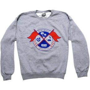 District Supply Co. Seal Sweatshirt - Athletic Heather