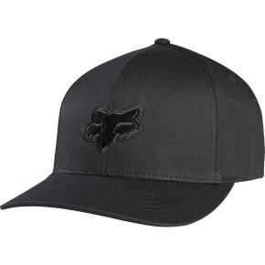 Fox Legacy Flexfit Cap - Black/Black
