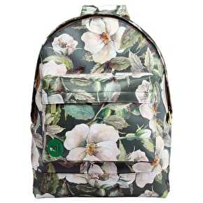 Mi-Pac Backpack - Bloom Dark Green/Cream