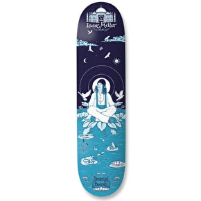 Drawing Boards Isaac 'The Chiller' Miller Skateboard Deck - Blue 8.25