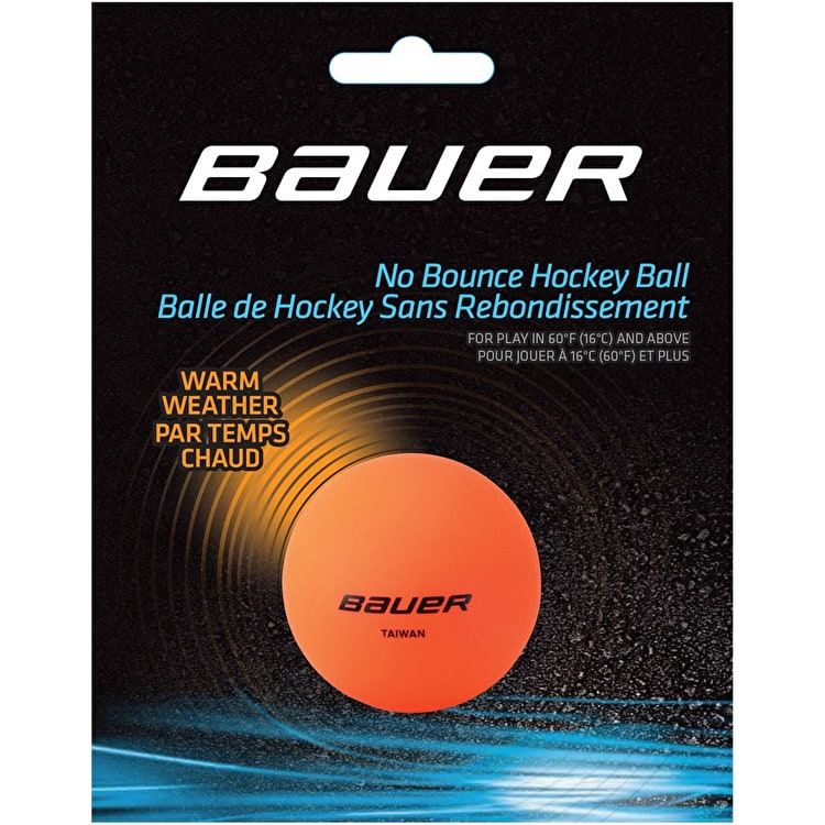 Bauer Hockey Ball - Warm Orange